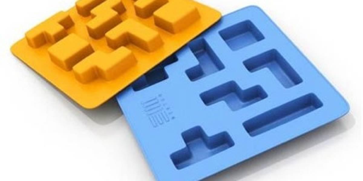 Tetrice: Cubos de hielo al estilo Tetris