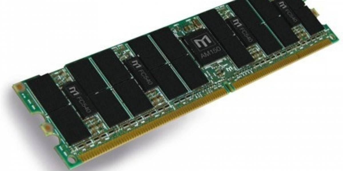 MetaRAM promete cuadruplicar la capacidad de memoria de computadores y servidores