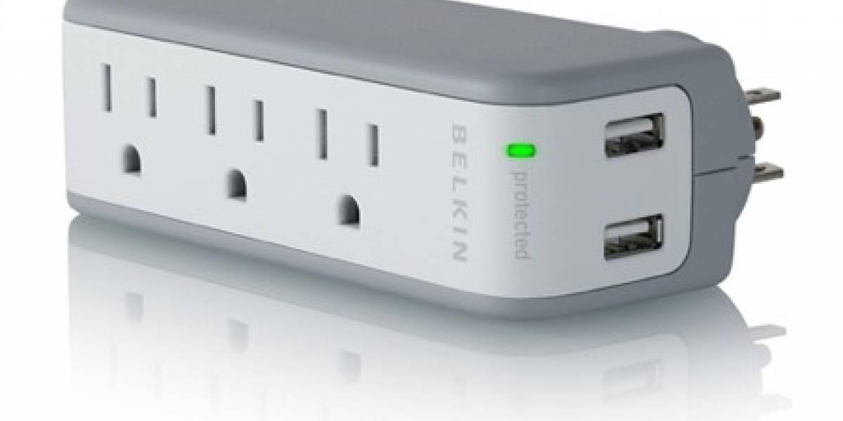 Belkin Powerstrip: Protector de voltaje y cargador USB