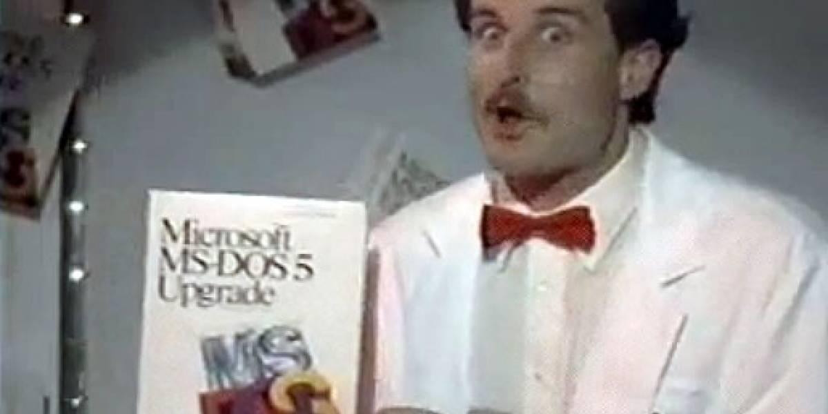 Feliz cumpleaños, MS-DOS