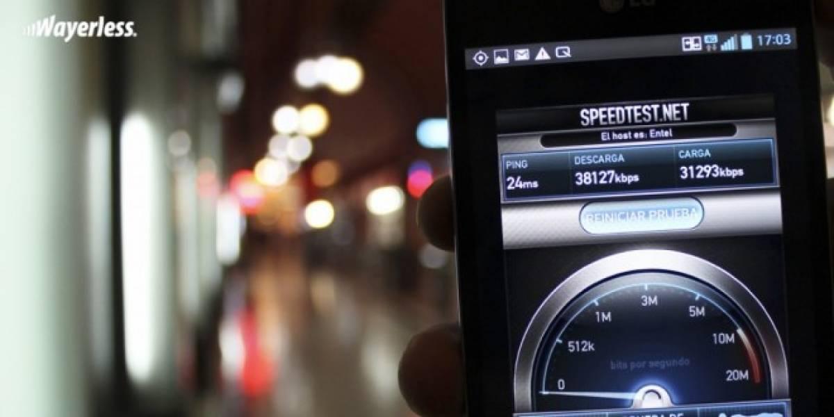 Un cuarto de los chilenos usa internet 4G