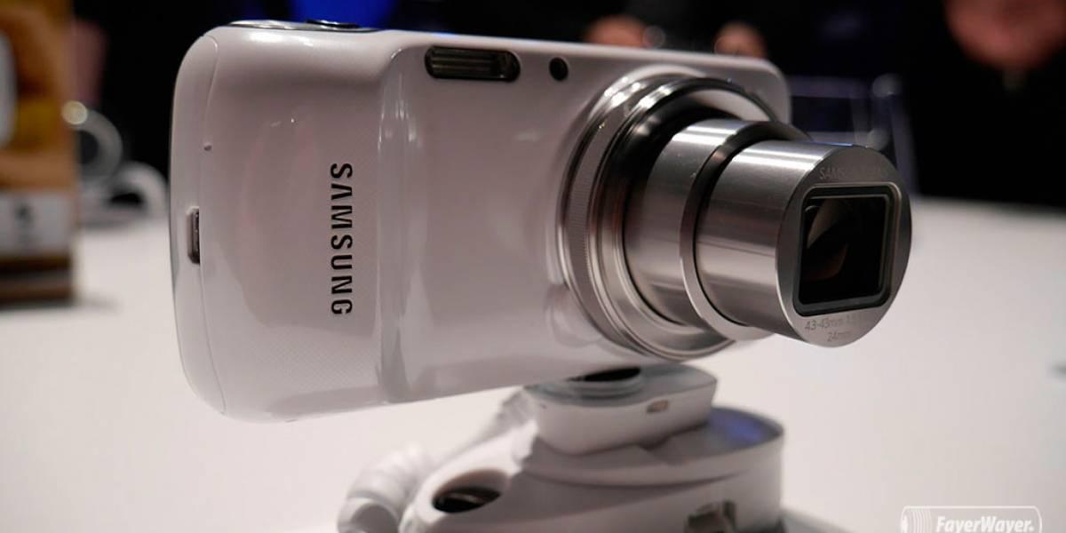 Samsung anuncia el Galaxy S4 zoom