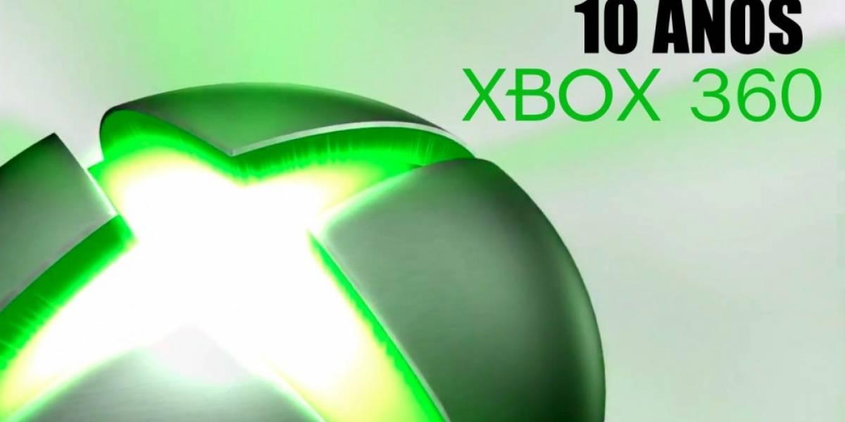Aniversario: 10 años de Xbox 360