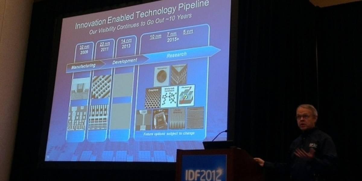 Intel quiere empezar a trabajar en tecnología de 10nm para el año 2015