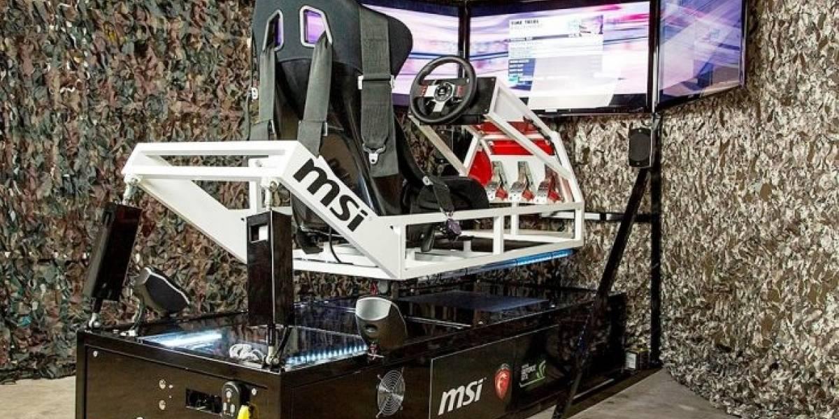 Proyecto EBTR: El simulador de carreras que te mueve literalmente