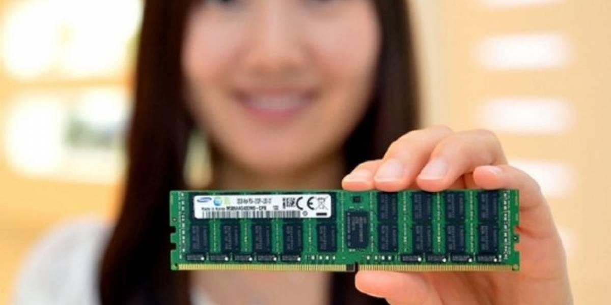 Samsung comenzó la producción de memorias DDR4