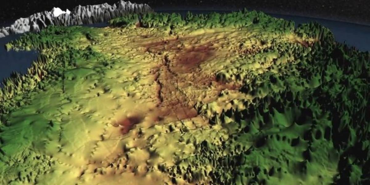 Con frecuencia particular de radar descubren cañón en Groenlandia