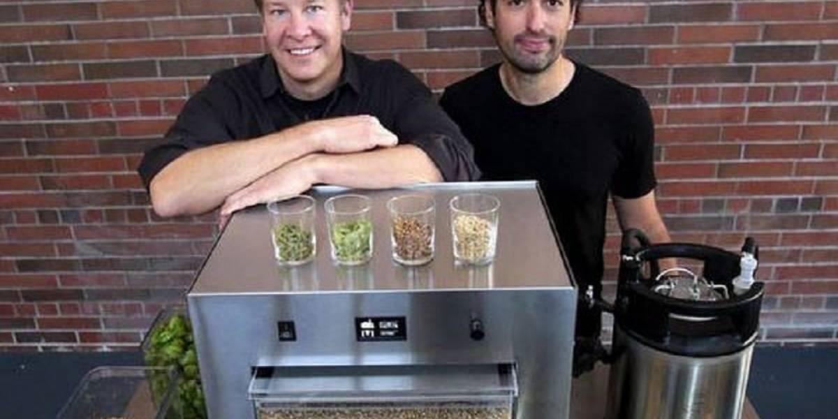 Ex ejecutivos de Microsoft desarrollan máquina para elaborar cerveza casera