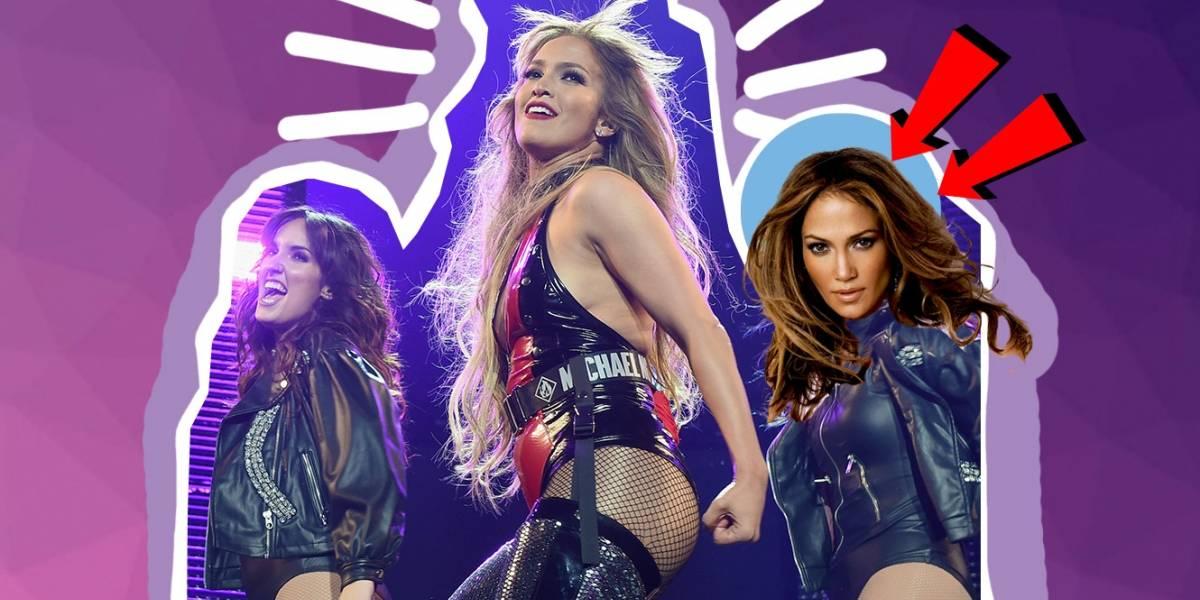 Bailarina de Jennifer Lopez enloquece al Internet por ser idéntica a la cantante