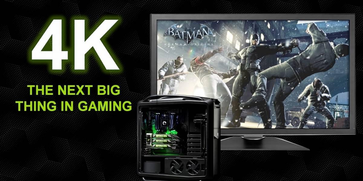 """La revolución 4K será """"la cosa"""" más grande en videojuegos, según Nvidia"""