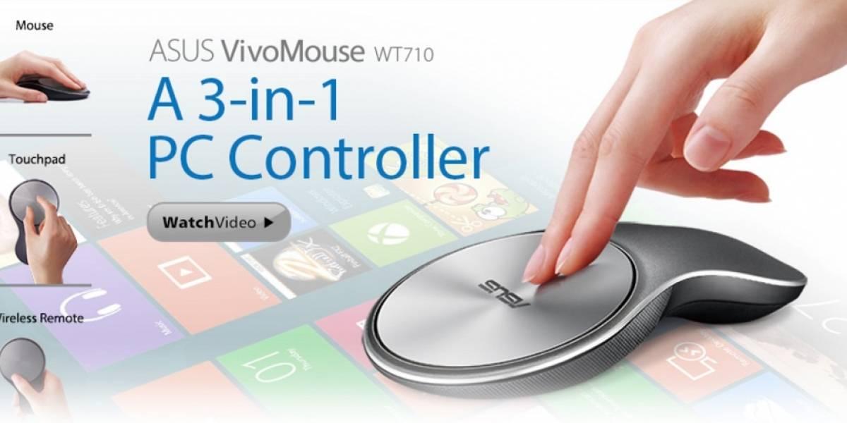 ASUS lanza oficialmente el VivoMouse