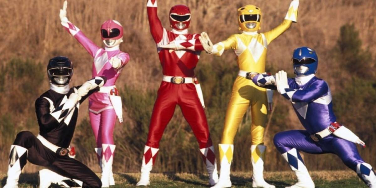Los Power Rangers llegan a Minecraft