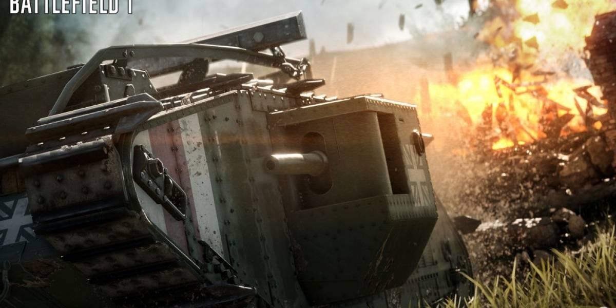 La próxima semana DICE revelará detalles sobre la primera expansión de Battlefield 1