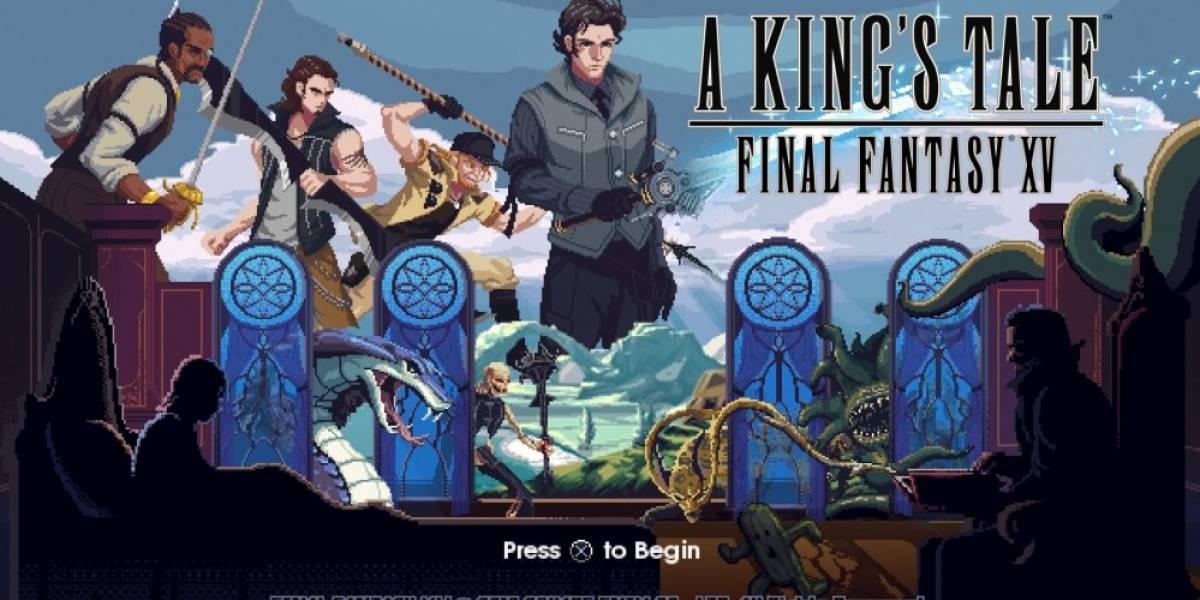 A King's Tale: Final Fantasy XV está gratis en PS4 y Xbox One