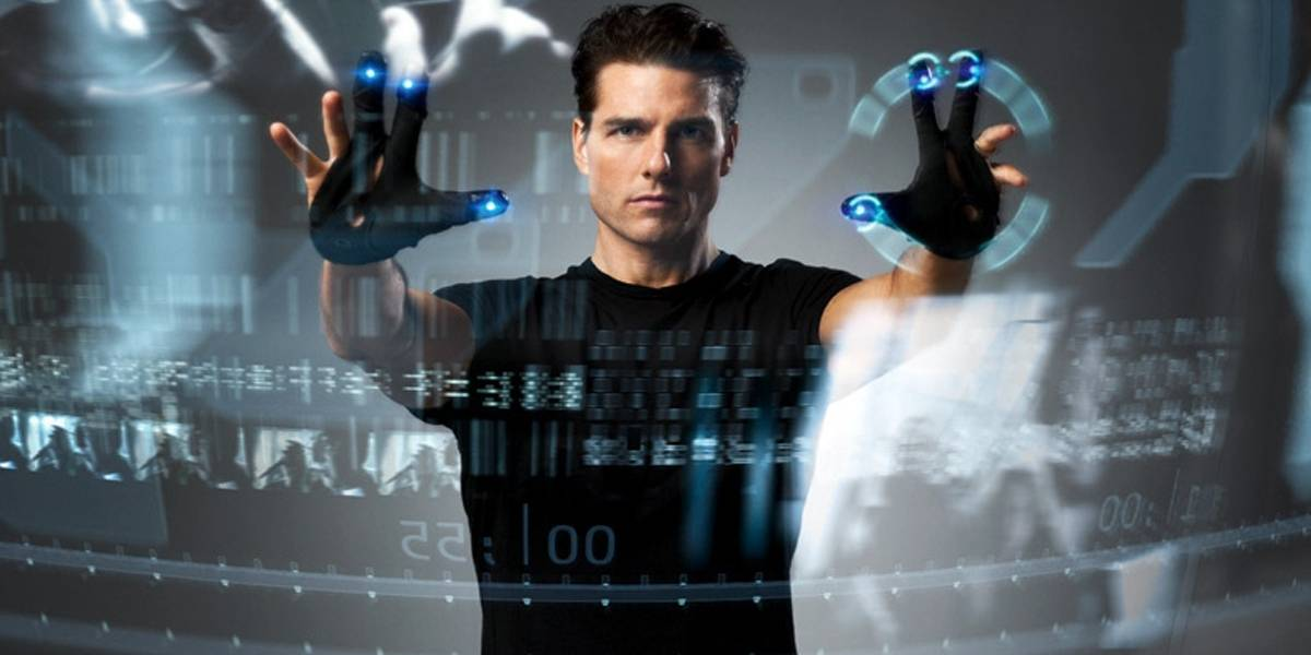 Diseñan mando de movimiento 3D virtual inspirado en Minority Report