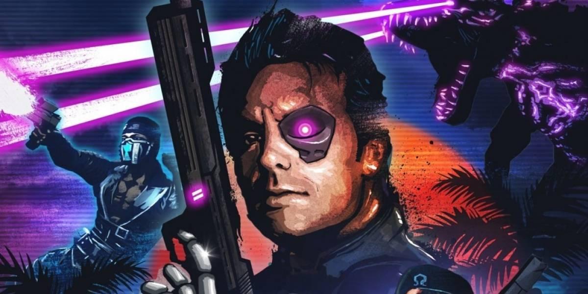 Trials of the Blood Dragon: El crossover ochentero de Ubisoft #E32016