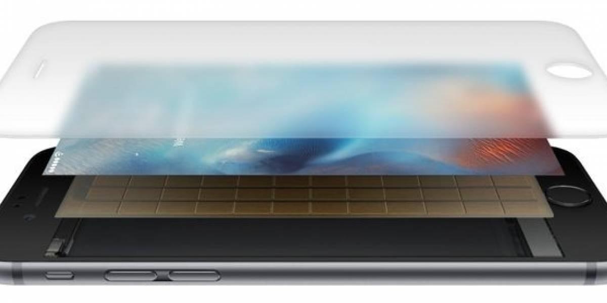 Apple adoptaría un nuevo 3D Touch para un iPhone con pantalla OLED