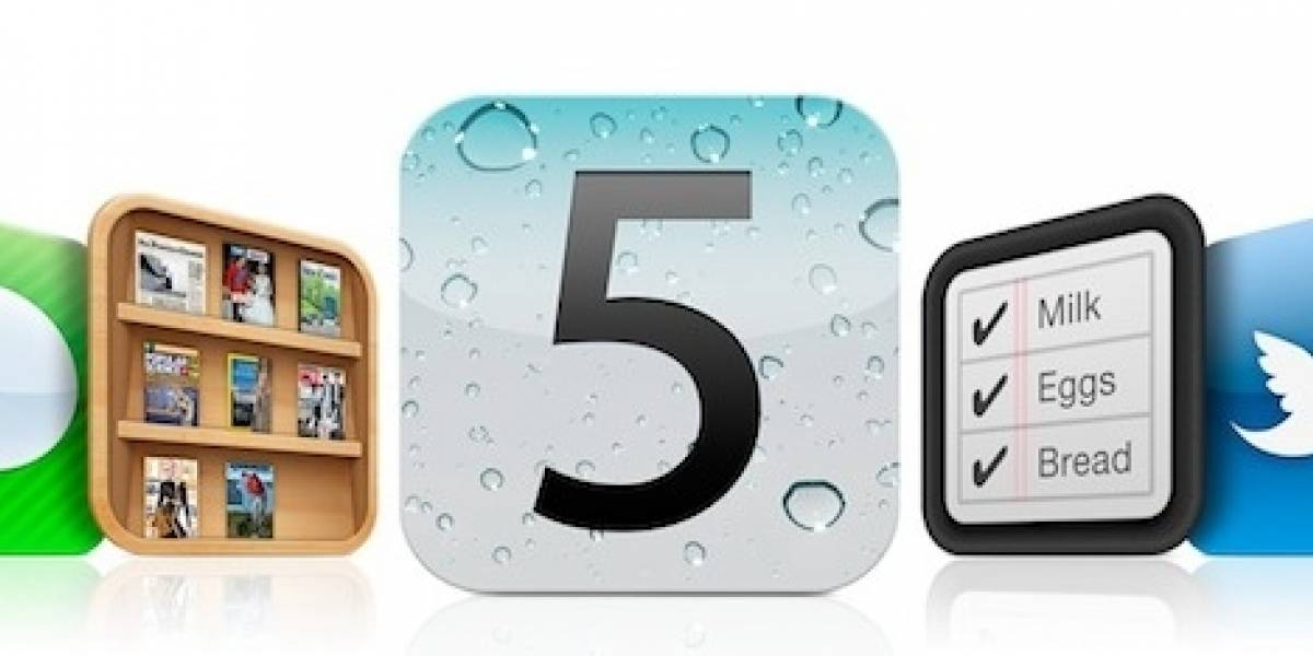 iOS 5 Beta 7 al aire