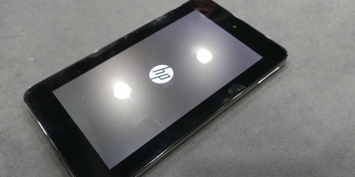 MWC13: HP Slate 7, a veces menos es más [A Primera Vista]