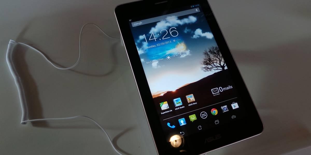 """MWC13: Asus fonePad, un """"no, gracias"""" de 7 pulgadas [A Primera Vista]"""