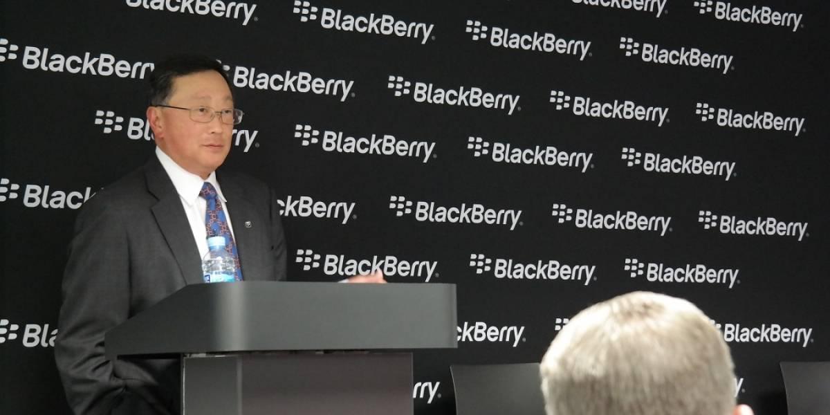 """John Chen, CEO de BlackBerry: """"No jugaremos a hacer teléfonos de 79 dólares"""" #MWC14"""