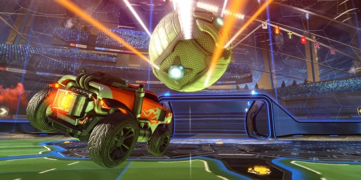 Rocket League fue el juego de PS4 más descargado en el 2016