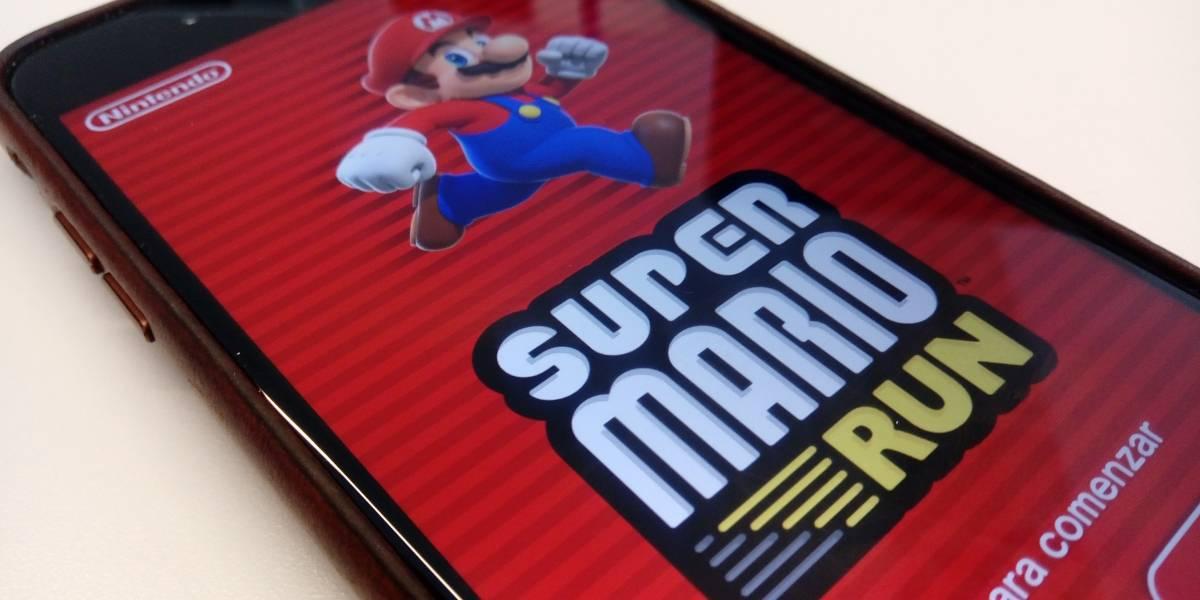 Super Mario Run ha sido descargada más de 2.85 millones de veces en su primer día