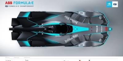Novo carro da Fórmula E