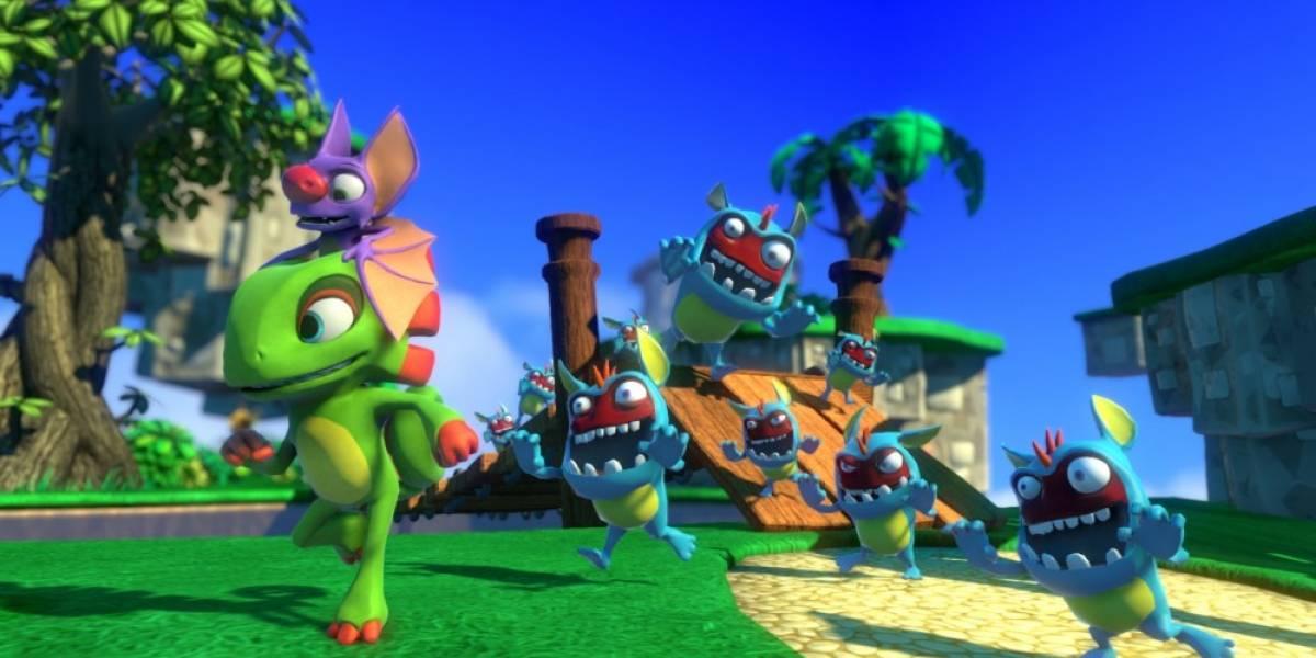 Playtonic Games anuncia fecha de lanzamiento de Yooka-Laylee