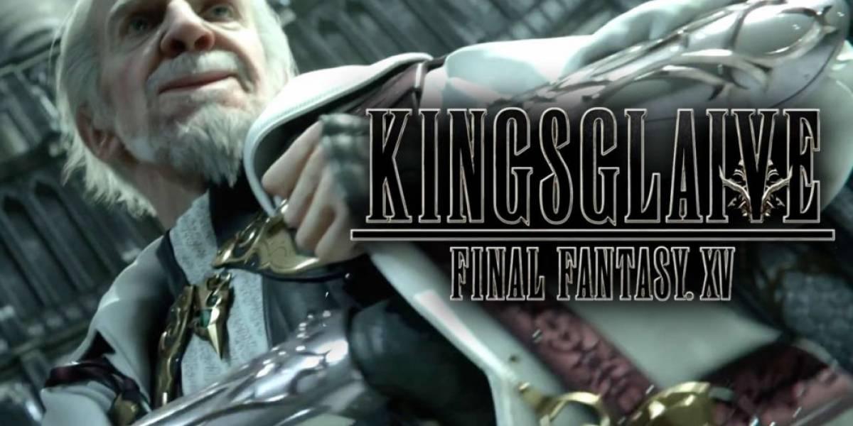 La versión digital de Kingsglaive: Final Fantasy XV ya tiene fecha de lanzamiento