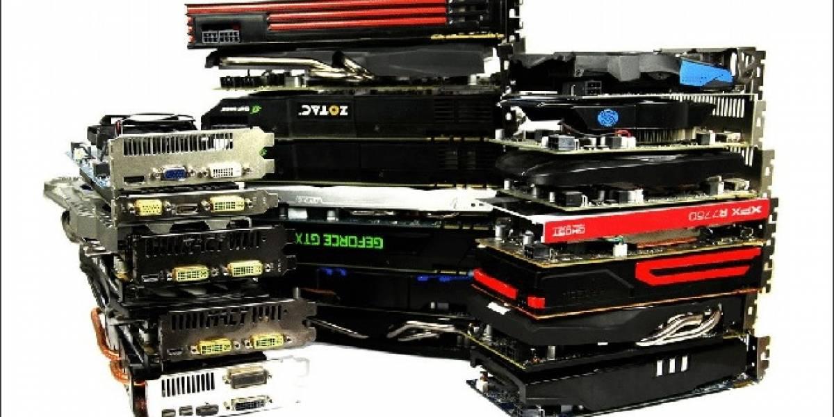 30 tarjetas de video NVIDIA y AMD probadas con aplicaciones aceleradas por GPU