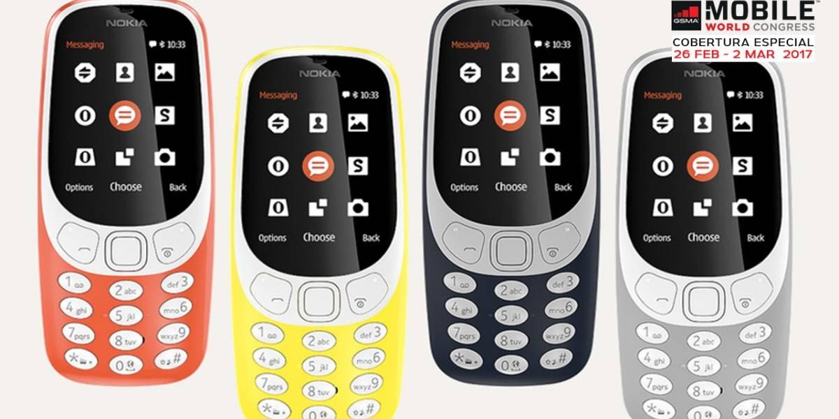 Nokia apela a la nostalgia y vuelve a ofrecernos el Nokia 3310 #MWC17