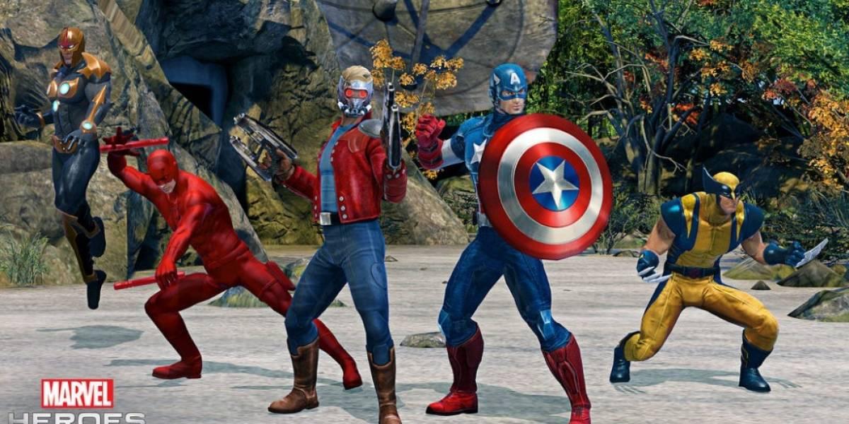 Anuncian Marvel Heroes Omega para PS4