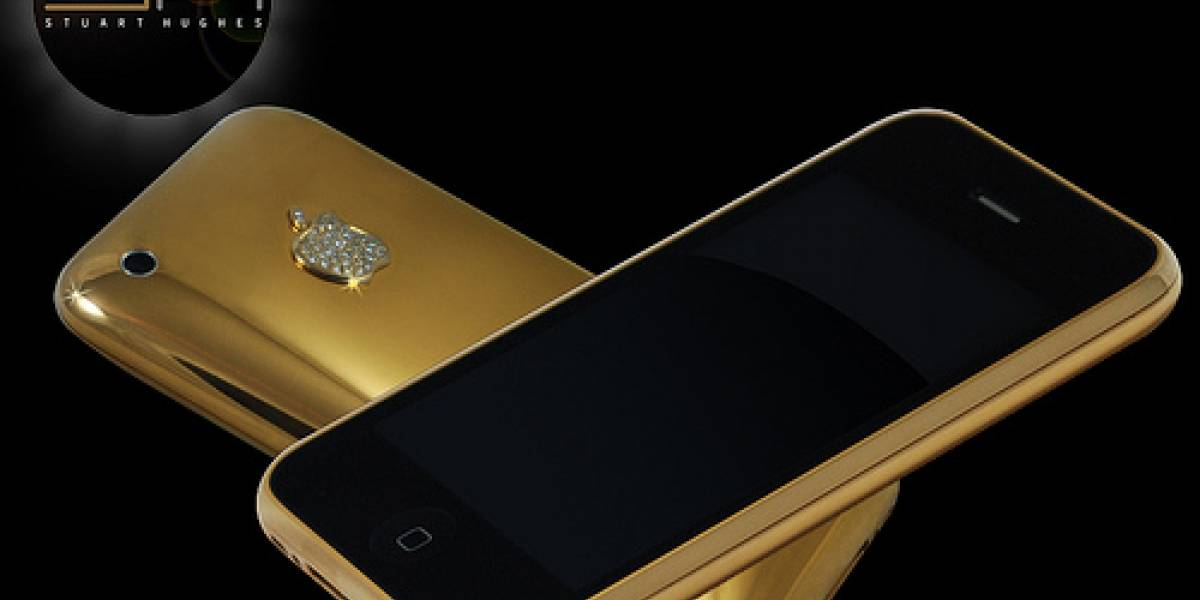 Un iPhone de oro sólido