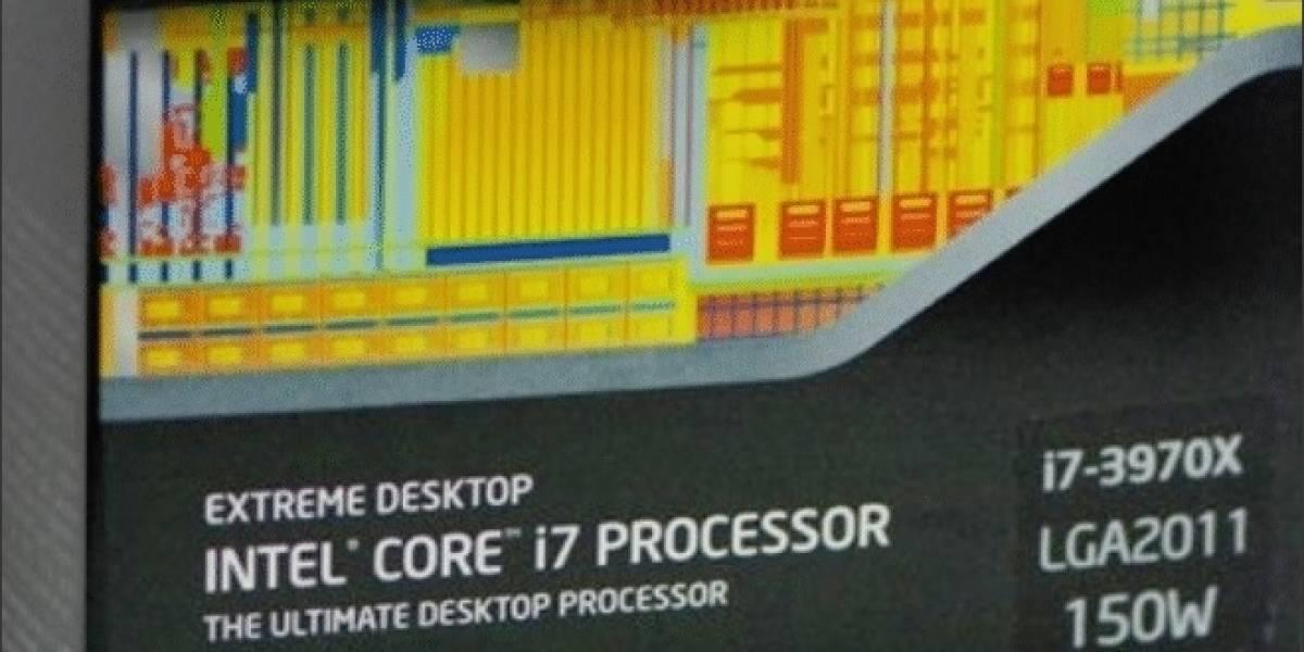 CPU Intel Core i7-3970X a prueba