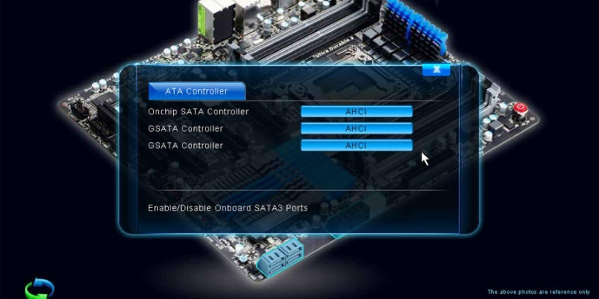 Gigabyte finalmente muestra que hay UEFI para sus placas madre