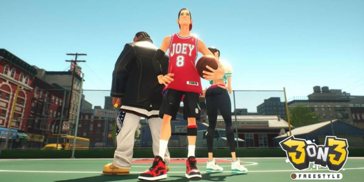 El básquetbol callejero llega a la PS4 con 3on3 Freestyle