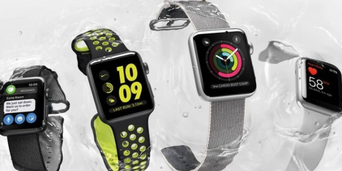 Hoy se lanza el Apple Watch Series 2 en Chile y aquí te decimos donde comprarlo