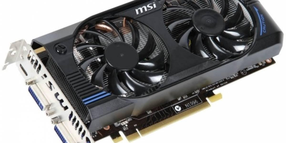 Nvidia Geforce GTX 560 SE hace su aparición en tarjeta de video MSI