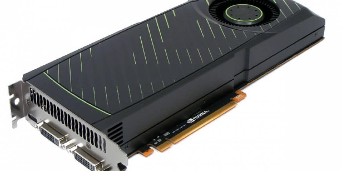 Nvidia Geforce GTX 570 test con controladores 2011