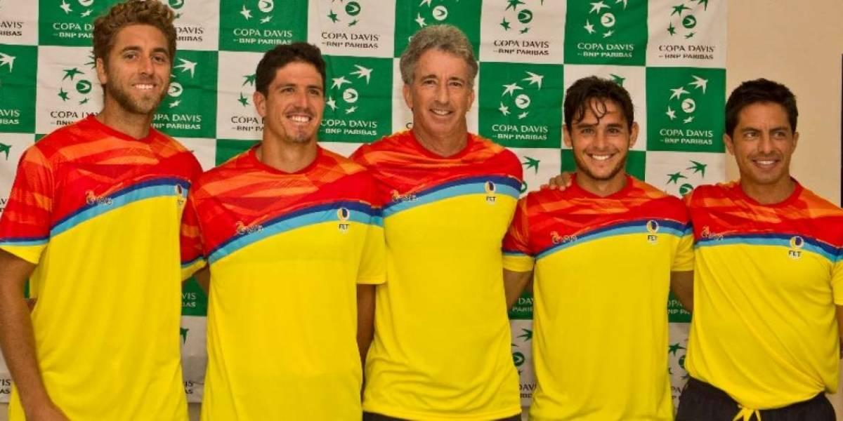 """Ecuador no está conforme con los cambios en la Davis: """"Era tradición esas batallas a cinco sets"""""""