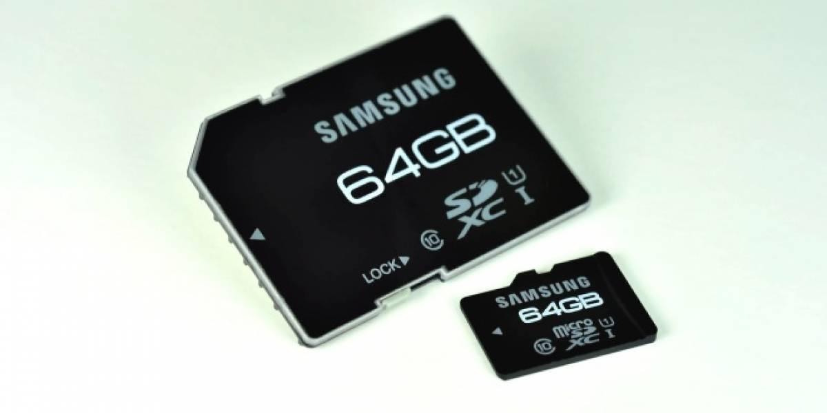 Samsung anuncia sus nuevas microSD Pro, con velocidades de hasta 104 MB/s