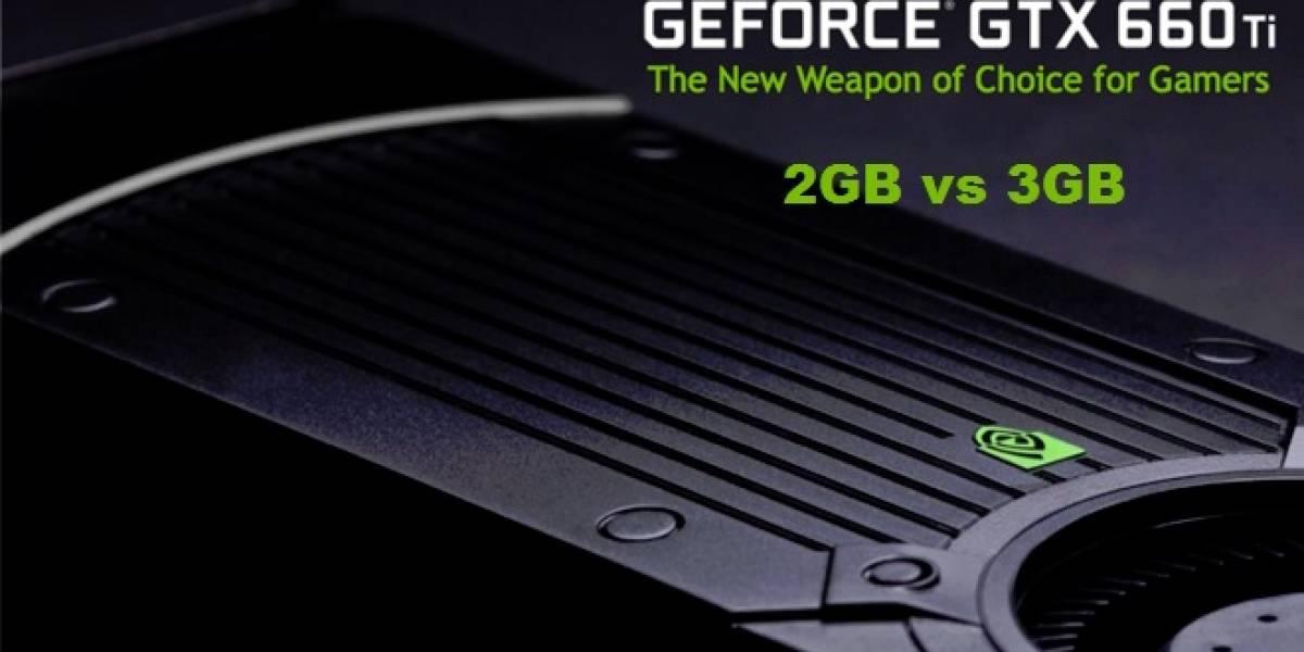 NVIDIA GeForce GTX 660 Ti: 2GB vs 3GB
