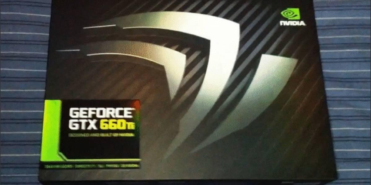 Imágenes de la tarjeta de video GeForce GTX 660 Ti BBN (Built By NVIDIA)