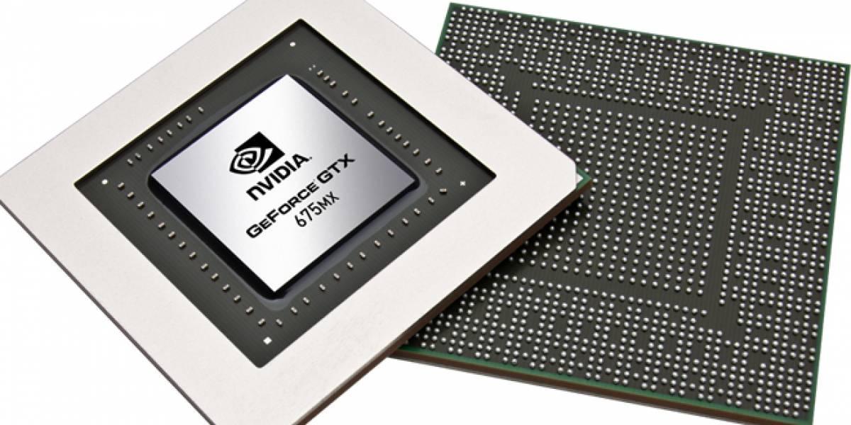 NVIDIA presenta cuatro nuevos modelos de chips gráficos para notebooks