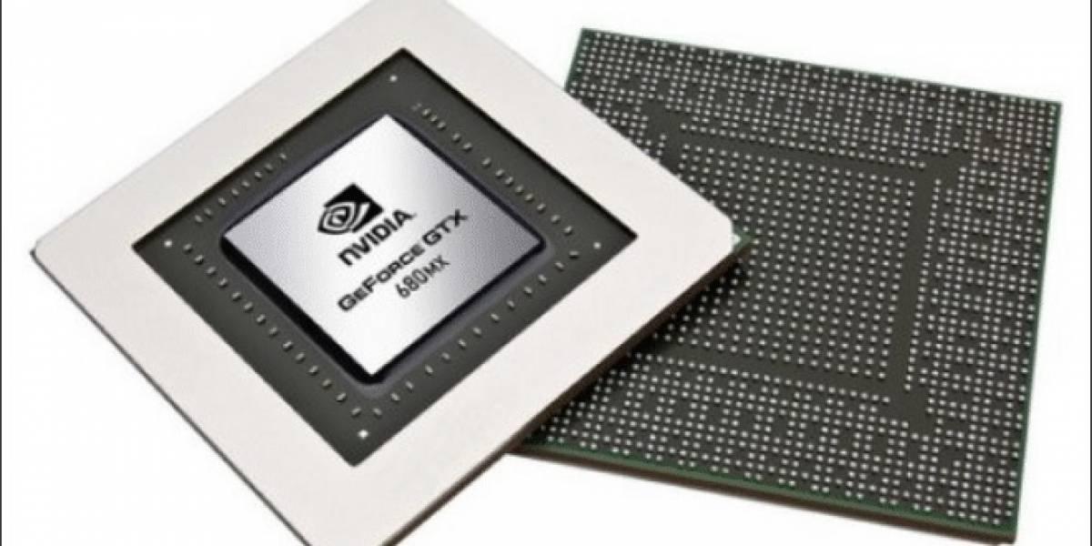 GPUs GeForce MX reviven con las nuevas GeForce GTX 680MX, 675MX y 670MX para portátiles