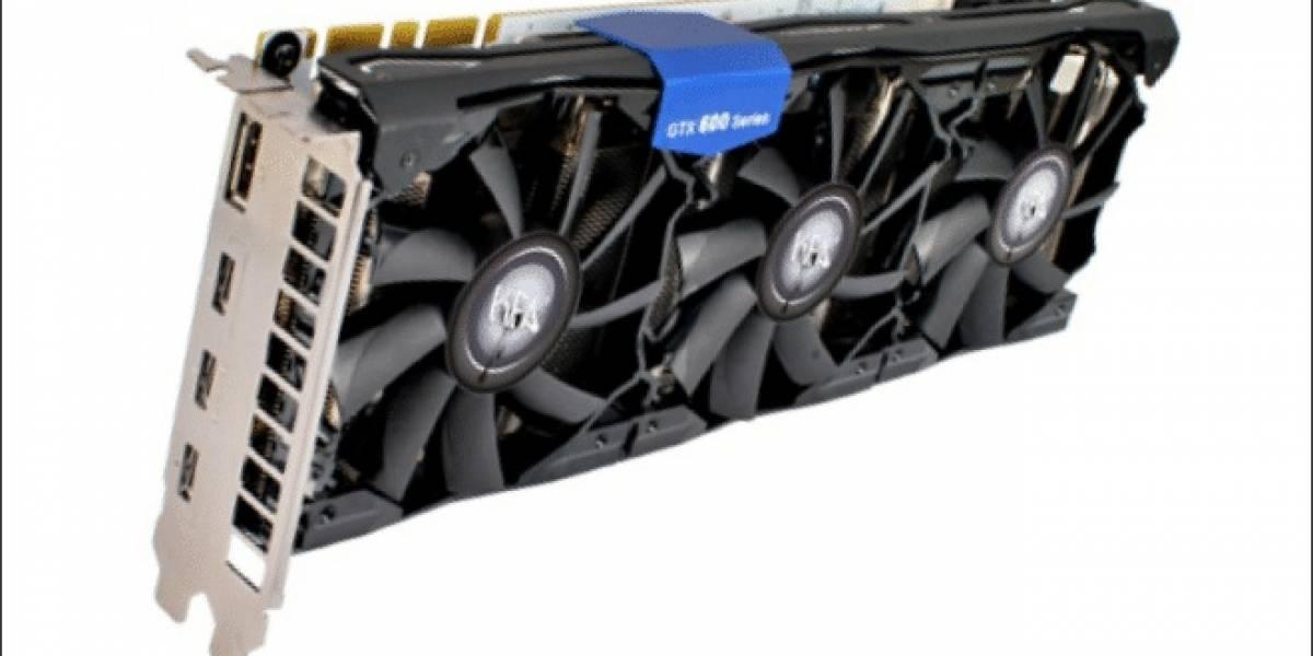 Galaxy lanza su tarjeta de video GeForce GTX 680 SOC