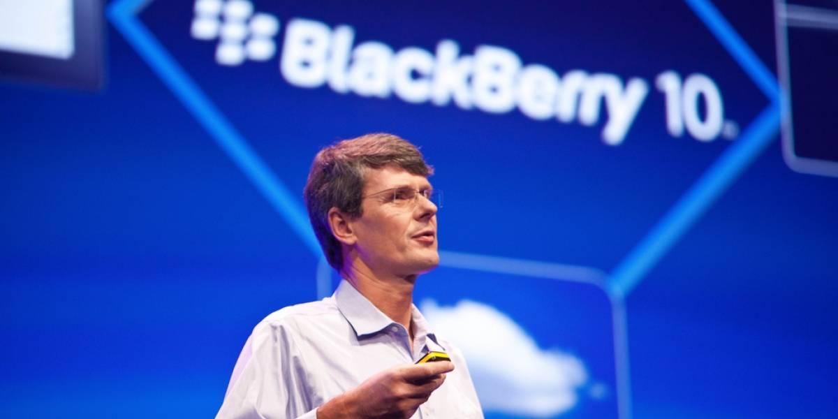 """CEO de RIM asegura que """"nada en el BlackBerry 10 será como el BlackBerry 7"""""""