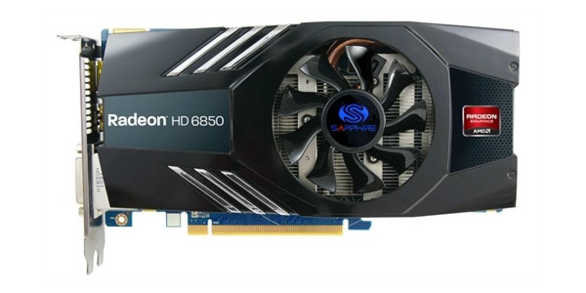 Sapphire lanza tarjeta de video Radeon HD 6850 2GB
