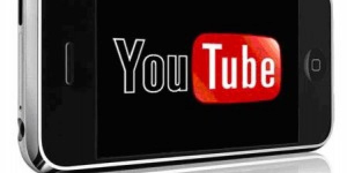 Se disparan videos subidos a YouTube desde celulares